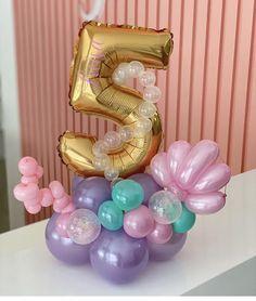 Balloon Party, Balloon Decorations Party, Balloon Ideas, Birthday Balloons, Birthday Parties, Little Mermaid Birthday, The Little Mermaid, Mermaid Balloons, Balloon Designs