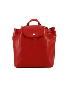 Backpack Shoulder Bag Women Longchamp, Red