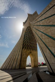 Azadi tower / Tehran / IRAN by Niloufar Hosein zadeh on 500px