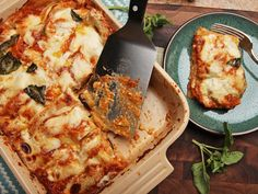 Summer Vegetable Lasagna With Zucchini, Squash, Eggplant, and Tomato - Serious Eats Vegetable Lasagna Recipes, Zucchini Lasagna, Pasta Recipes, Vegan Recipes, Cooking Recipes, Zucchini Squash, Vegetable Lasagne, Eggplant Lasagna, Recipes Dinner