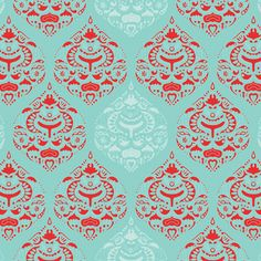 fabrics designed by artist Holli Zollinger from her Seafoam and Rosehips Collection.