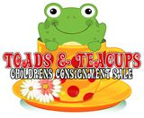 Toads and Teacups - A Kids Consignment Sale in Buford July 25-27, 2013 in Buford, GA #consignmentsale #moms #consignmentmommies