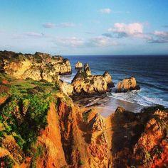 Praia dos Três Irmãos, Portimão (f: Portimão.Notícias)