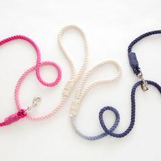 DOG MILK Dip Dyed Rope Leash Kit