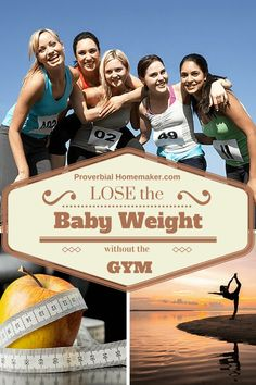 Here are some good tips on losing baby weight without going to the gym.  At home exercise tools and ideas for getting in shape after baby.