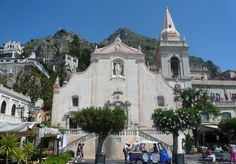 Chiesa San Giuseppe in Taormina, Sicily where my friend got married.