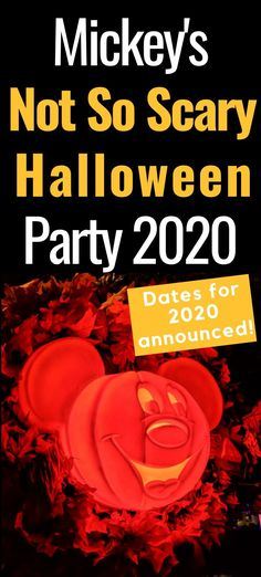Mickey's Not So Scary Halloween Party is a hard ticket even at Magic Kingdom. This complete guide tells all you need to know about MNSSHP to plan a great. Disney Vacation Club, Disney Vacation Planning, Disney World Planning, Disney World Vacation, Disney Vacations, Disney World Halloween, Scary Halloween, Halloween Party, Disney World Tips And Tricks
