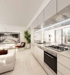 Platinum is replicating the popularity of Payce's earlier buildings at Victoria Park – Apex and East Village – which sold out equally quickly. House Extensions, Auckland, East Village, White Kitchens, Buildings, Victoria, Decor Ideas, Park, Home Decor
