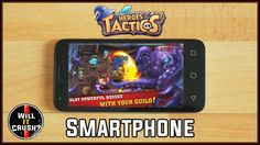 Crushing a Smartphone with Heroes Tactics Crushes, Smartphone, Videos