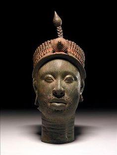 cabeça de um negro bronze - Pesquisa Google