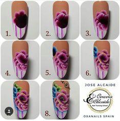 Nails & Co, Diy Nails, One Stroke, Nail Art, Nail Designs, Stone, Color, Designed Nails, Work Nails