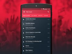 Android Player - Playlist