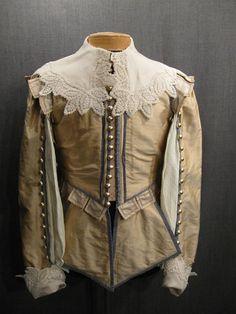 Doublet Men's Cavalier Lt Peach Blue Silk