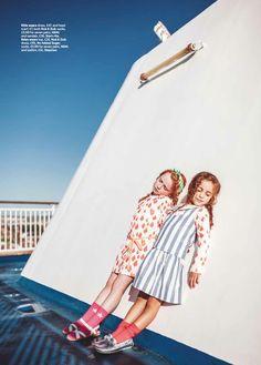 Noe & Zoe and No Added Sugar alternative kids nautical fashion for spring 2015
