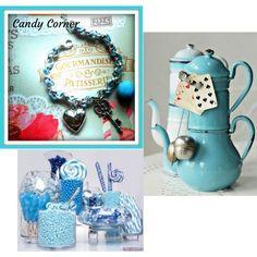"""Bijoux // Candy Corner"" mod. Cuore /Chiave/Macaron"