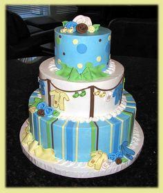 Patti's Baby Shower Cake