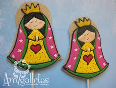 Virgencitas - Our lady of Guadalupe Cookies