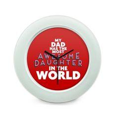 BigOwl   Dad  Table Clock Online India at BigOwl.in