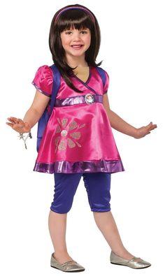 #Trendy Halloween - #Rubies Dora & Friends Deluxe Dora Toddler & Child Costume - AdoreWe.com