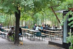 A space for the community at the Prinzessinnengarten, Berlin