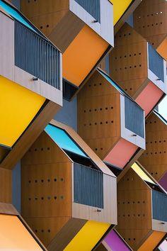 Honeycomb apartments, Slovenia