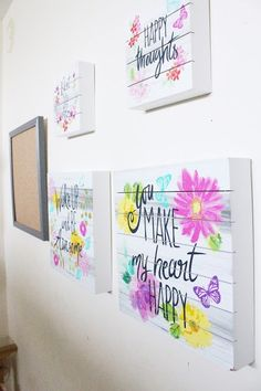Kids Bedroom Wall Update - City of Creative Dreams kids wall | kids room | kids art wall | kids room
