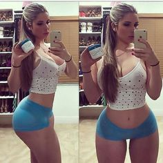 Kathy Ferreiro is the Cuban Kim Kardashian Mode Du Bikini, Haut Bikini, Kim Kardashian, Hot Girls, Charmer Une Femme, Sexy Women, Legging Sport, Femmes Les Plus Sexy, Bikini Workout
