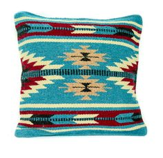 Based on an early Native American embroidery techniques this pillow embodies a modern take on classic geometric textiles. Thick woven 90% wool | 10% poly blend has a substantial weight and feel that l