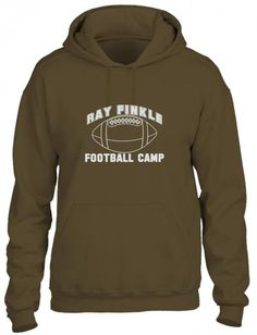ray finkle football camp laces out Hoodie