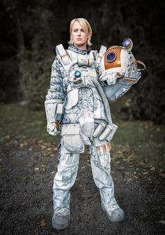 Space suit costume I'm working on.