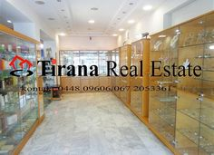 Tirana, for Rent Store at Durresi Street. Store with surface 70sqm is paved in parquet and marble, located on the 1-st floor of a building. The store is organized in 1 open space and 1 bathroom, it has view from the main road, glass facade and advertising opportunities, 1 AC.Price 1300 Euro/month.