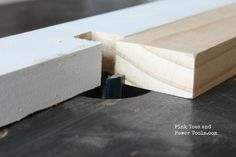 A beginner woodworking tutorial on how to use a router to make drawer fronts.  See how easy it is to build drawer fronts for your woodworking projects.