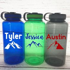 Personalized Mountain Tumbler - Hiking Tumbler - Gift for Hiker - Mountain Climber Gift - Mountain Decal - Adventure Seekers - Hiking Gear by SimplyGracefulDesign on Etsy