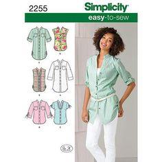 Simplicity 2255 Women's Top