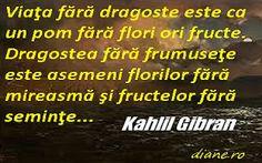Dragostea - Khalil Gibran Kahlil Gibran, Mai, Company Logo, Logos, Logo