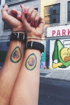 16 Tattoo Ideas For the Truly Avocado Obsessed