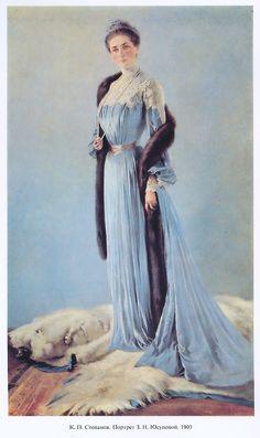 Princess Zinaida Yusupova, 1903 - by C.P. Stepanov