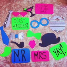 Photo Booth Props by Illuminate My Event