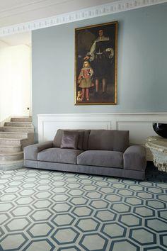 Bisazza Contemporary Cement Tiles. Colección Dal Bianco