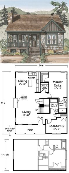 #SmallSpace  #Blueprints #Houseplans   -  http://alittlebitofthisthatandeverything.blogspot.com/