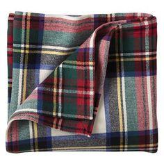 Boys Blankets: Tartan Throw Blanket in Kids Blankets