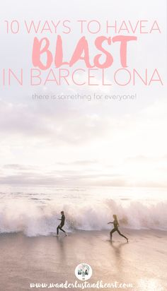 There's a reason so many people love Barcelona! There is much to do, see, and try! It's simply a FUN place to be! And there's something for everyone! Find out just 10 things to do to enjoy your time in this Catalan city! - Wanderlust & Heart