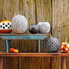 The Great Pumpkin: 23 Creative Pumpkin Crafts: Hop on Pop (via Parents.com)