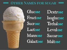 Other names for sugar on an ingredients list | suzyhomemaker.net