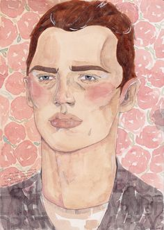 caitlinmarieshearer -Dream boy has been walking in the sunshine, which consequently turned his cheeks to pink.