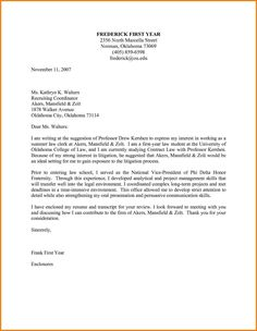 cover letter for promotion sample internal position examples pinterest resume - Example Of A Cover Letter For Resume