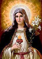 Inmaculado corazón de María. Algunas oraciones