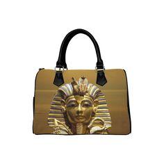 Egypt King Tut Boston Handbag. FREE Shipping. #artsadd #bags #egypt