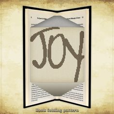 Book folding pattern Joy for 164 folds - ID0555435