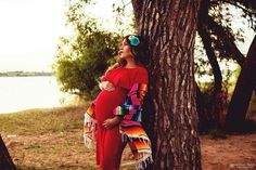 Mexican style maternity photoshoot from @jessicapearlphotography representing my culture.  Sun, flowers, mexican blanket and thoughts of my baby Ayza who will soon be here.